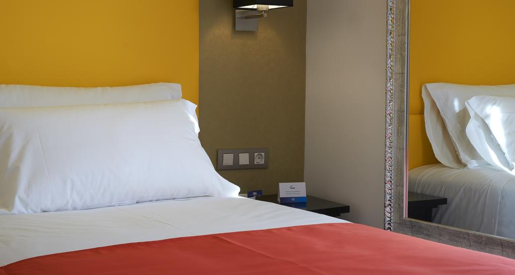 Habitación individual del Hotel Hesperia Barri Gotic