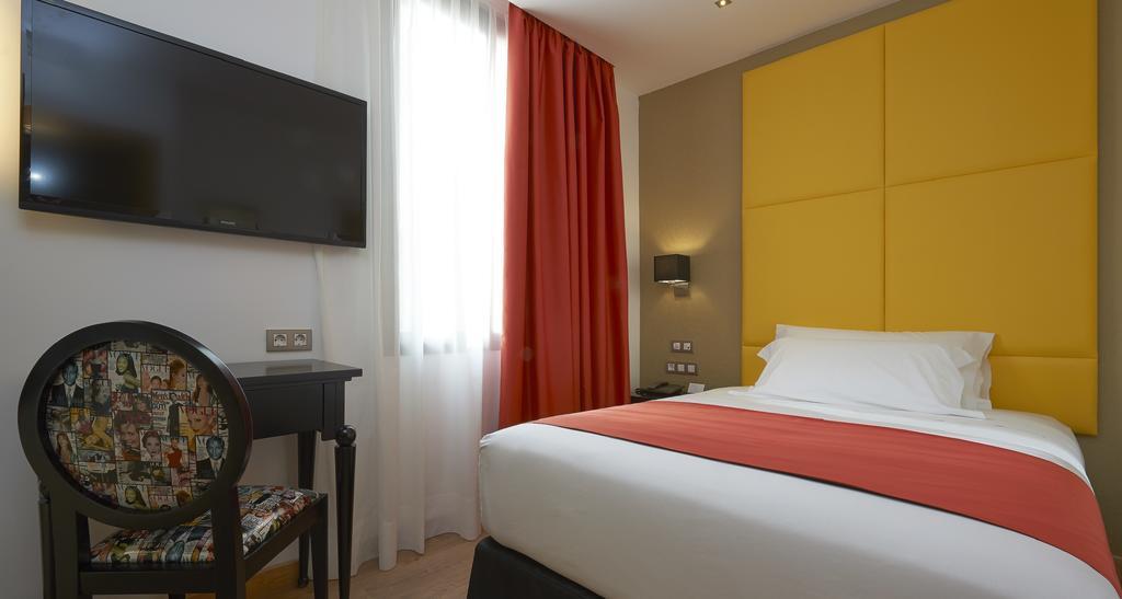 Habitación individual del Hotel Hesperia Barcelona Barri Gotic