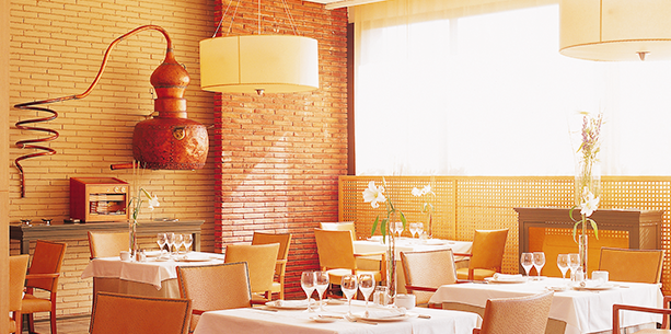 Restaurant of the Hotel Hesperia Sant Just
