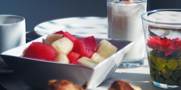 Breakfast at Hotel Hesperia Fira Suites Barcelona