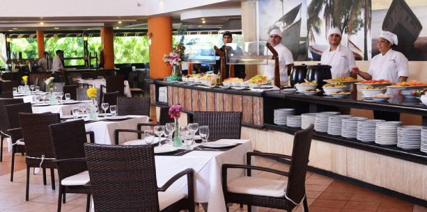 Restaurante del Hotel Hesperia Playa El Agua