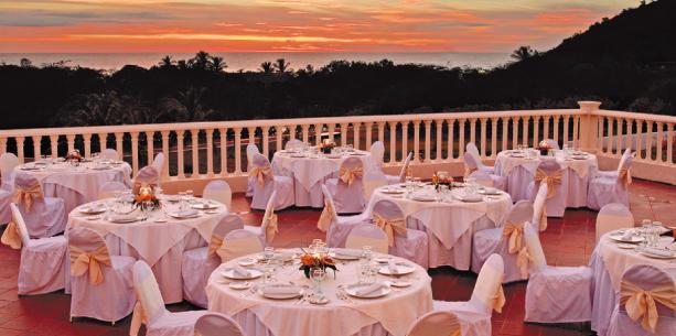 Restaurante del Hotel Hesperia Isla de Margarita