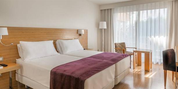 Habitació standard de l'Hotel Hesperia Ciutat de Mallorca