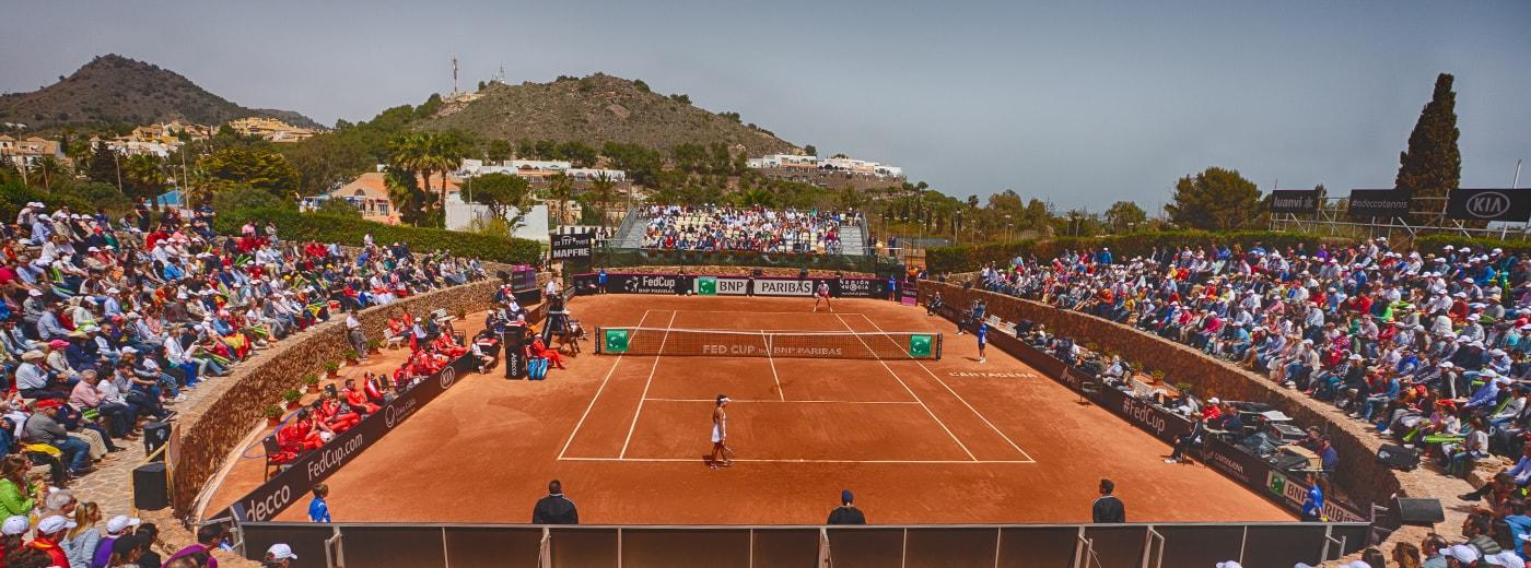 Tennis Court La Manga Club